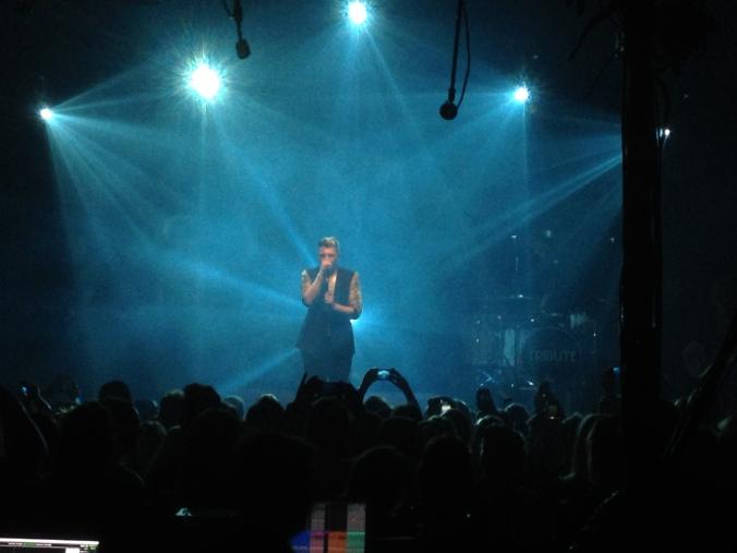 Bilde fra konsert på Rockefeller