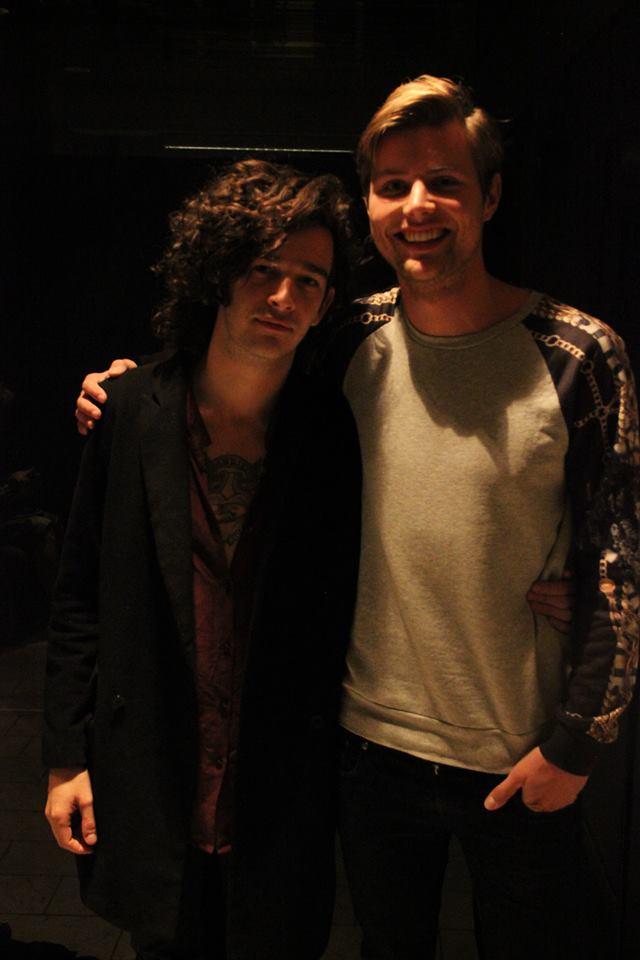 Matt Healy og meg